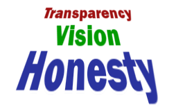 Honesty, Vision, and Transparency