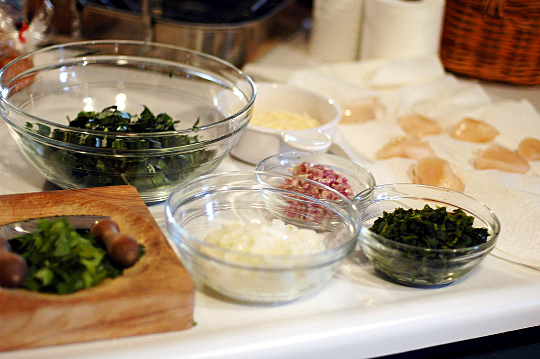 Picture of mise en place