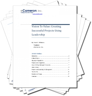Vision To Value: Creating Successful Projects Using Leadership