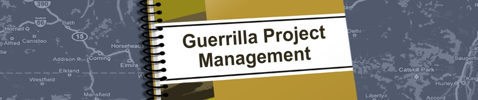 Banner for Guerrilla Project Management